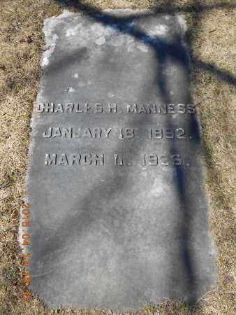 MANNESS, CHARLES H. - Marquette County, Michigan | CHARLES H. MANNESS - Michigan Gravestone Photos