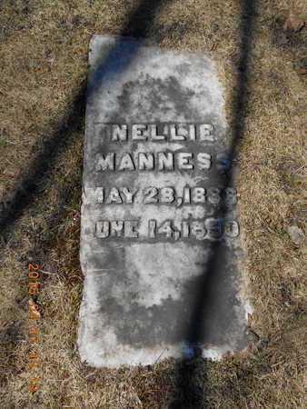 MANNESS, NELLIE - Marquette County, Michigan | NELLIE MANNESS - Michigan Gravestone Photos