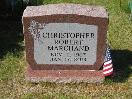 MARCHAND, CHRISTOPHER ROBERT - Marquette County, Michigan   CHRISTOPHER ROBERT MARCHAND - Michigan Gravestone Photos