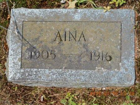 MARJAMAA, AINA - Marquette County, Michigan   AINA MARJAMAA - Michigan Gravestone Photos