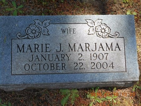 MARJAMAA, MARIE J. - Marquette County, Michigan | MARIE J. MARJAMAA - Michigan Gravestone Photos