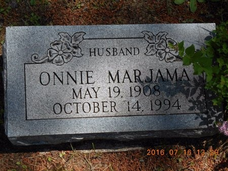MARJAMAA, ONNIE - Marquette County, Michigan | ONNIE MARJAMAA - Michigan Gravestone Photos