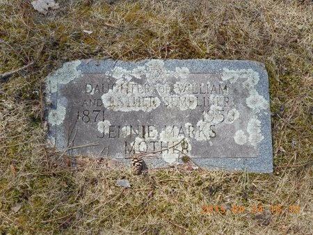 MARKS, JENNIE - Marquette County, Michigan | JENNIE MARKS - Michigan Gravestone Photos