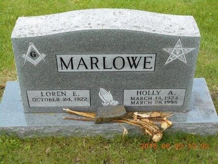 MARLOWE, HOLLY A. - Marquette County, Michigan | HOLLY A. MARLOWE - Michigan Gravestone Photos