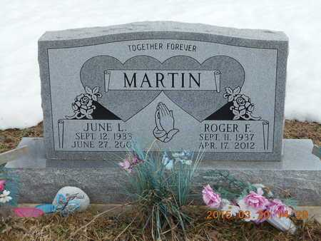 MARTIN, ROGER F. - Marquette County, Michigan | ROGER F. MARTIN - Michigan Gravestone Photos