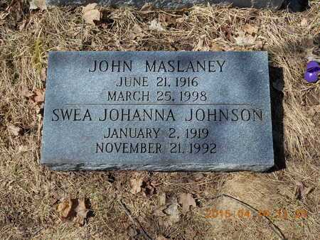 JOHNSON, SWEA JOHANNA - Marquette County, Michigan | SWEA JOHANNA JOHNSON - Michigan Gravestone Photos