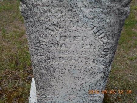 MATHESON, DUNCAN - Marquette County, Michigan | DUNCAN MATHESON - Michigan Gravestone Photos