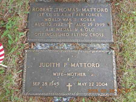 MATTORD, ROBERT THOMAS - Marquette County, Michigan | ROBERT THOMAS MATTORD - Michigan Gravestone Photos
