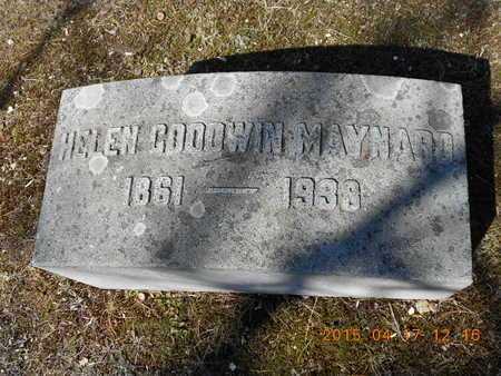 MAYNARD, HELEN - Marquette County, Michigan | HELEN MAYNARD - Michigan Gravestone Photos