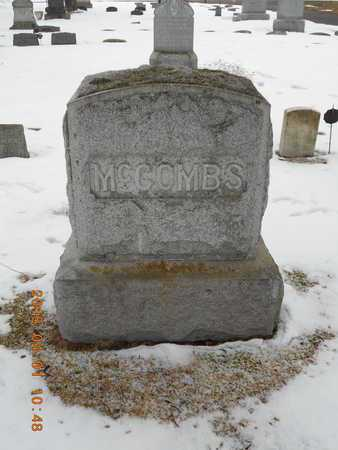 MCCOMBS, FAMILY - Marquette County, Michigan   FAMILY MCCOMBS - Michigan Gravestone Photos