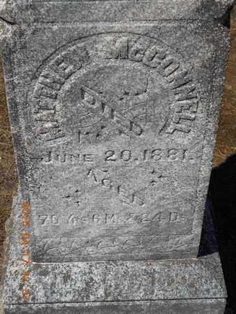 MCCONNELL, MATHEW - Marquette County, Michigan   MATHEW MCCONNELL - Michigan Gravestone Photos