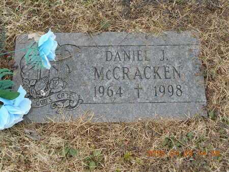 MCCRACKEN, DANIEL J. - Marquette County, Michigan   DANIEL J. MCCRACKEN - Michigan Gravestone Photos