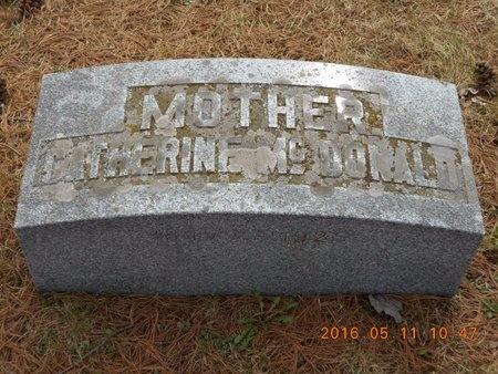 MCDONALD, CATHERINE - Marquette County, Michigan | CATHERINE MCDONALD - Michigan Gravestone Photos