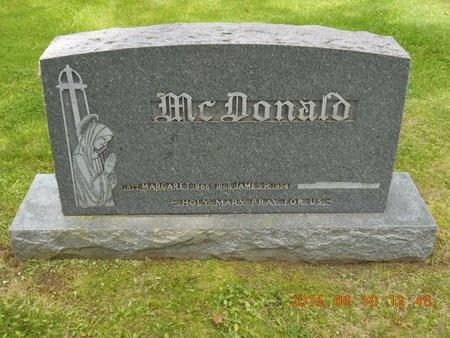 MCDONALD, MARGARET - Marquette County, Michigan | MARGARET MCDONALD - Michigan Gravestone Photos