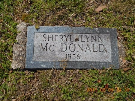MCDONALD, SHERYL LYNN - Marquette County, Michigan | SHERYL LYNN MCDONALD - Michigan Gravestone Photos