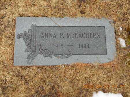 MCEACHERN, ANNA P. - Marquette County, Michigan | ANNA P. MCEACHERN - Michigan Gravestone Photos
