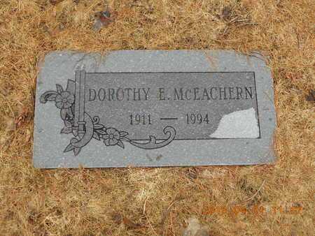 MCEACHERN, DOROTHY E. - Marquette County, Michigan   DOROTHY E. MCEACHERN - Michigan Gravestone Photos