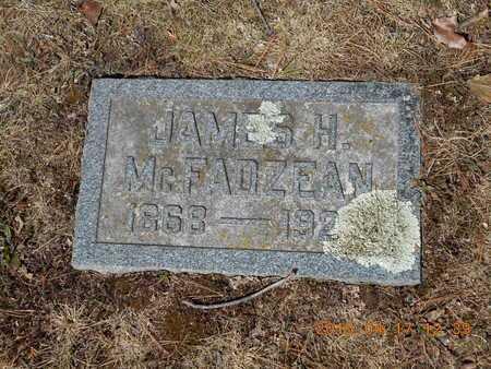 MCFADZEAN, JAMES H. - Marquette County, Michigan | JAMES H. MCFADZEAN - Michigan Gravestone Photos