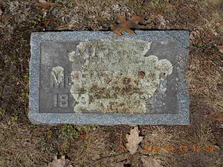 MCFADZEAN, MINNIE - Marquette County, Michigan   MINNIE MCFADZEAN - Michigan Gravestone Photos