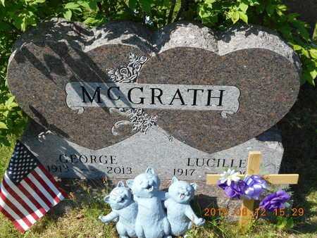 MCGRATH, GEORGE - Marquette County, Michigan   GEORGE MCGRATH - Michigan Gravestone Photos
