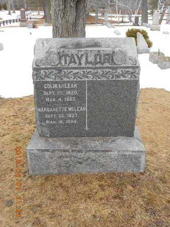 MCLEAN, COLIN - Marquette County, Michigan   COLIN MCLEAN - Michigan Gravestone Photos