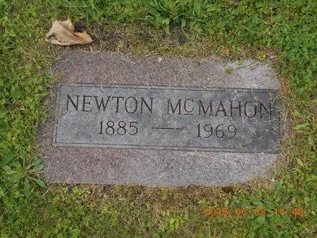 MCMAHON, NEWTON - Marquette County, Michigan   NEWTON MCMAHON - Michigan Gravestone Photos