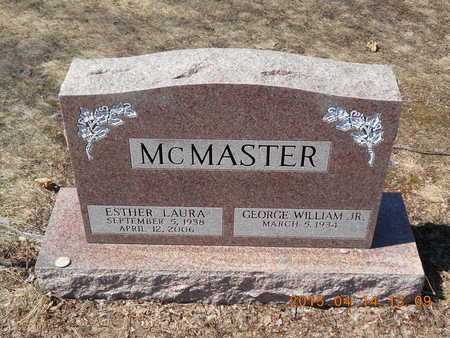 MCMASTER, ESTHER LAURA - Marquette County, Michigan | ESTHER LAURA MCMASTER - Michigan Gravestone Photos