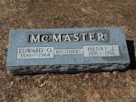 MCMASTER, HENRY J. - Marquette County, Michigan | HENRY J. MCMASTER - Michigan Gravestone Photos