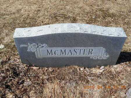 MCMASTER, FAMILY - Marquette County, Michigan | FAMILY MCMASTER - Michigan Gravestone Photos