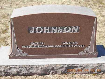 JOHNSON, GERTIE N. - Marquette County, Michigan | GERTIE N. JOHNSON - Michigan Gravestone Photos