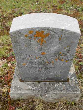 MCMASTER, MICHAEL - Marquette County, Michigan   MICHAEL MCMASTER - Michigan Gravestone Photos