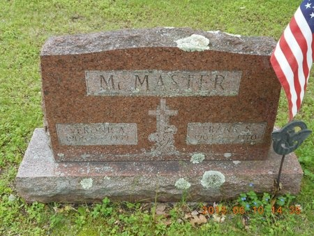 MCMASTER, VERONICA - Marquette County, Michigan | VERONICA MCMASTER - Michigan Gravestone Photos
