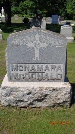 MCDONALD, FAMILY - Marquette County, Michigan   FAMILY MCDONALD - Michigan Gravestone Photos