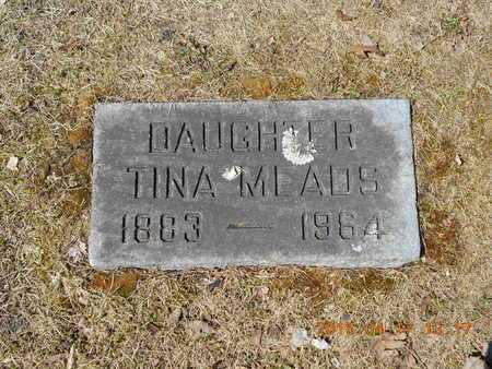MEADS, TINA - Marquette County, Michigan | TINA MEADS - Michigan Gravestone Photos