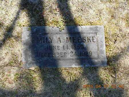 MEESKE, EMILY A. - Marquette County, Michigan | EMILY A. MEESKE - Michigan Gravestone Photos