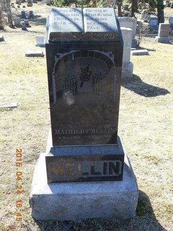 MELLIN, MATHILDA - Marquette County, Michigan | MATHILDA MELLIN - Michigan Gravestone Photos