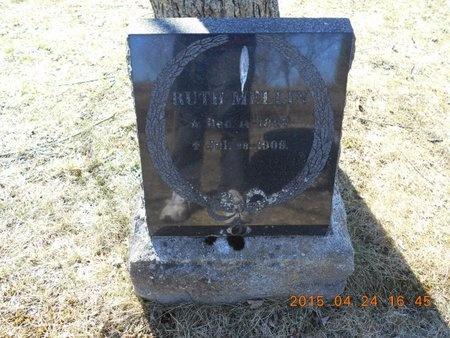 MELLIN, RUTH - Marquette County, Michigan | RUTH MELLIN - Michigan Gravestone Photos