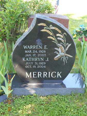 MERRICK, WARREN E. - Marquette County, Michigan | WARREN E. MERRICK - Michigan Gravestone Photos