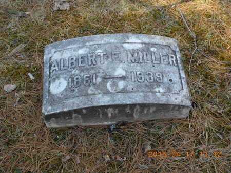 MILLER, ALBERT E. - Marquette County, Michigan | ALBERT E. MILLER - Michigan Gravestone Photos