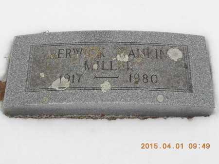 MILLER, BERWICK RANKIN - Marquette County, Michigan   BERWICK RANKIN MILLER - Michigan Gravestone Photos