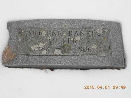 RANKIN MILLER, IMOGENE - Marquette County, Michigan | IMOGENE RANKIN MILLER - Michigan Gravestone Photos