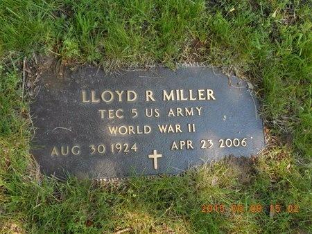 MILLER, LLOYD R. - Marquette County, Michigan | LLOYD R. MILLER - Michigan Gravestone Photos