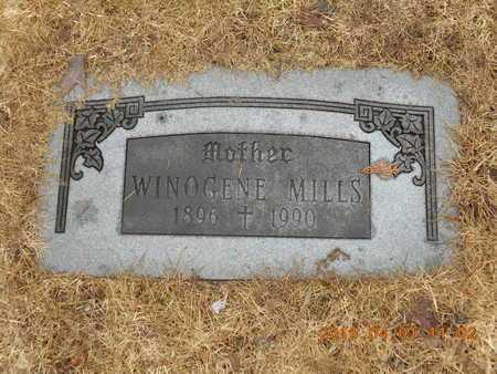 MILLS, WINOGENE - Marquette County, Michigan | WINOGENE MILLS - Michigan Gravestone Photos