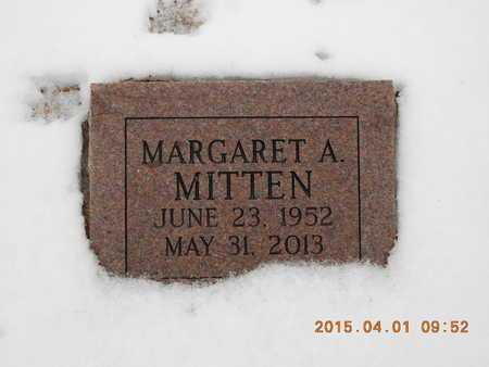 MITTEN, MARGARET A. - Marquette County, Michigan   MARGARET A. MITTEN - Michigan Gravestone Photos