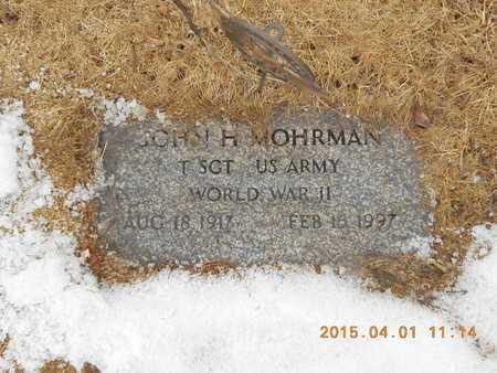 MOHRMAN, JOHN H. - Marquette County, Michigan | JOHN H. MOHRMAN - Michigan Gravestone Photos