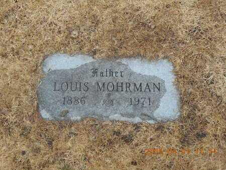 MOHRMAN, LOUIS - Marquette County, Michigan | LOUIS MOHRMAN - Michigan Gravestone Photos