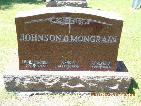 JOHNSON, LUCILLE ANN - Marquette County, Michigan | LUCILLE ANN JOHNSON - Michigan Gravestone Photos