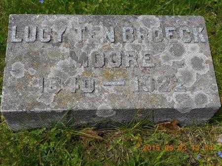 MOORE, LUCY - Marquette County, Michigan | LUCY MOORE - Michigan Gravestone Photos