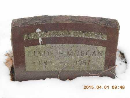 MORGAN, CLYDE E. - Marquette County, Michigan | CLYDE E. MORGAN - Michigan Gravestone Photos
