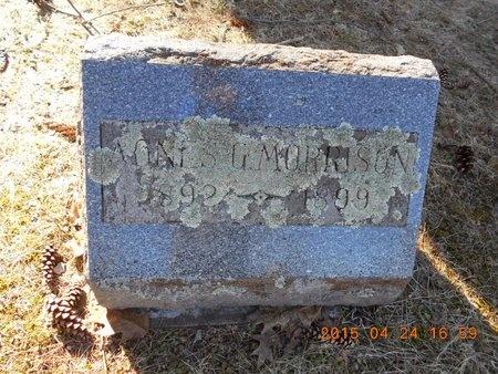 MORRISON, AGNES G. - Marquette County, Michigan | AGNES G. MORRISON - Michigan Gravestone Photos